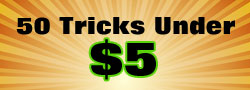 50 Magic Tricks Under $5.00