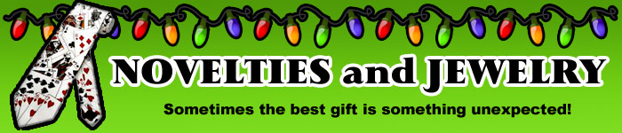 Novelties and Jewelry Christmas Gifts