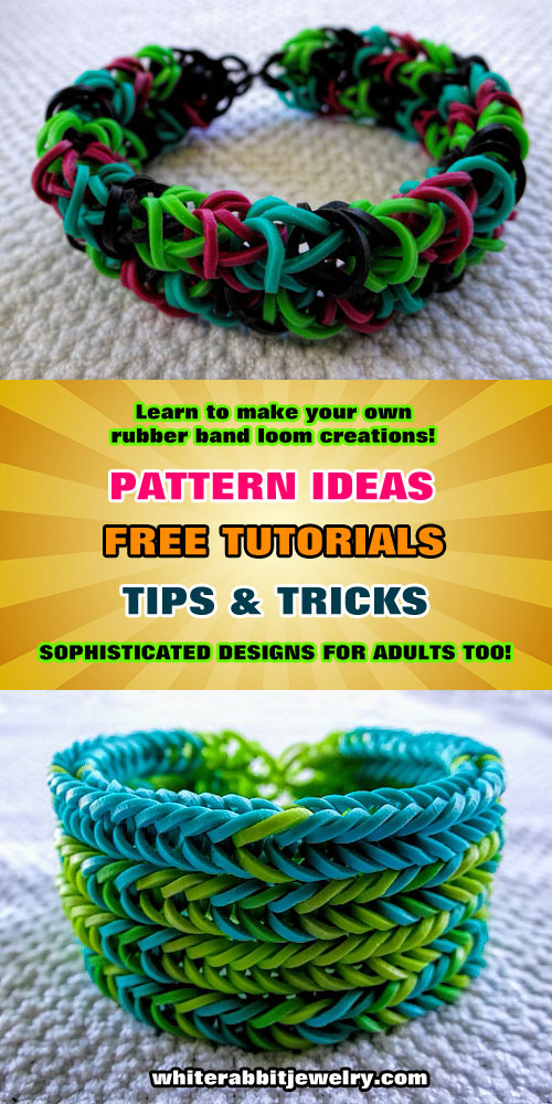 Rainbow Loom Patterns Instructions Ideas