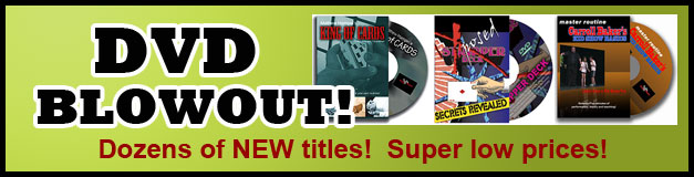 DVD Blowout- new titles, great prices