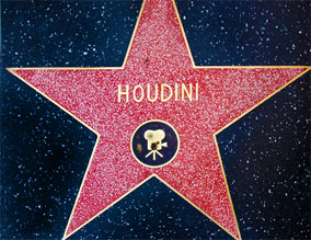 Harry Houdini Star