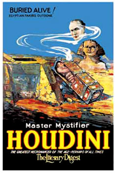 Harry Houdini Buried Alive