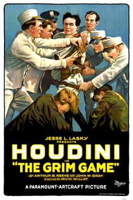 Houdini Grim Game movie poster