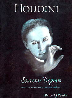 Houdini Final Season Souvenir Program
