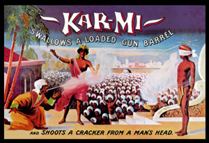 Kar-Mi Cracker Poster