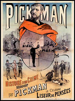 Pickman the mentalist from Belgium