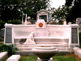 Grave of Harry Houdini