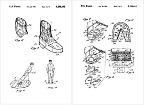 Michael Jackson Lean Shoes Patent