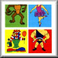 Circus Cartoon Silks