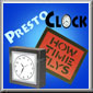 Presto Clock - How Time Flies