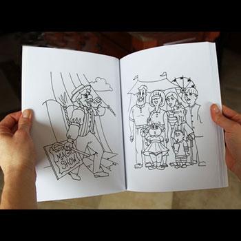 Magic Coloring Book Trick