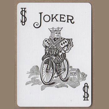 Playing Card Joker Design Black And White