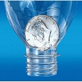 Half Dollar Coin In Bottle DELUXE + BONUS