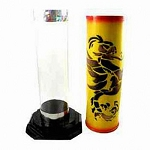 Crystal Silk Cylinder- Dragon
