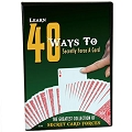 DVD- 40 Ways To Secretly Force a Card