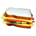 Sponge Foam Club Sandwich - Jumbo