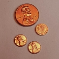 Miniature Pennies - Set of 3