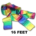 Rainbow Silk Streamer - 16 foot
