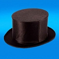 Top Hat- Collapsible BLACK