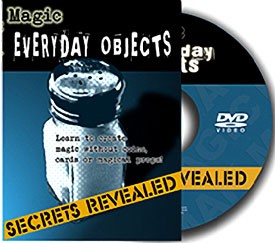 DVD- Amazing Magic Tricks With Everyday Objects Secrets Revealed