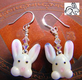 Magic Bunny Earrings