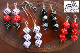 Dice Stacking Earrings