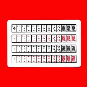 FREE- 52 On One Card for Glass Card Deck