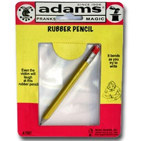 S.S. Adams Rubber Pencil