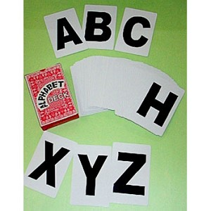 Alphabet Card Deck - Letter Cards + BONUSES