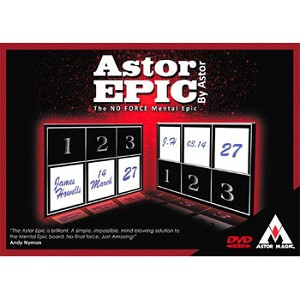 Astor Epic Perfected with DVD + BONUS