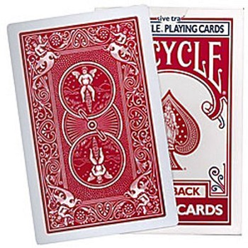 FREE- Red Bicycle Deck for Jokers Wild