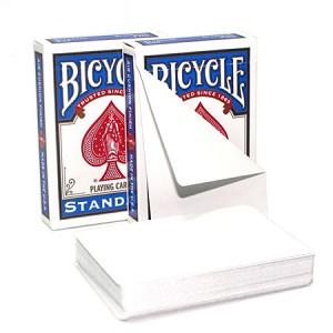Blank Both Sides Card Deck