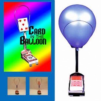 Card In Balloon