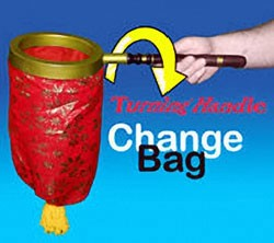 Change Bag- Turning Handle