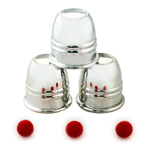 Cups and Balls Set - Aluminum