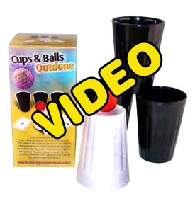 PASSWORD: Cups and Balls Outdone Instruction Video