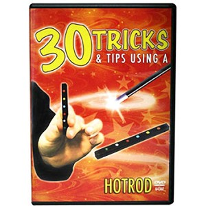 DVD-  Hot Rods Instruction: 30 Tricks PLUS RODS