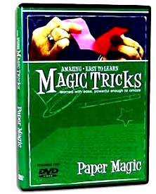 DVD- Amazing Easy Paper Magic Tricks