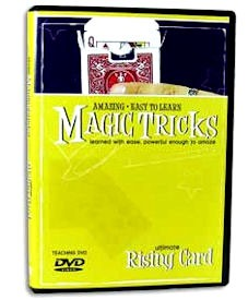 DVD- Rising Card Instruction: Amazing Easy To Learn Tricks