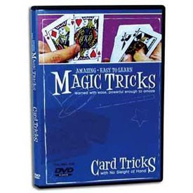 DVD- Amazing Easy To Learn Card Tricks