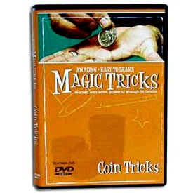 DVD- Amazing Easy Coin Magic Instruction