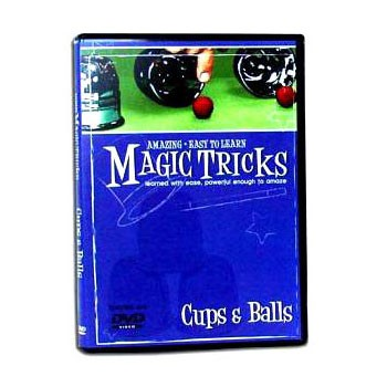 DVD- Amazing Easy Cups and Balls Instruction DVD