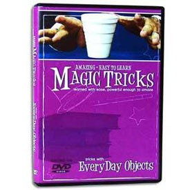 DVD- Amazing Easy To Learn Tricks Using Everyday Objects