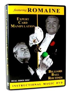 DVD- Card and Billiard Ball Manipulation