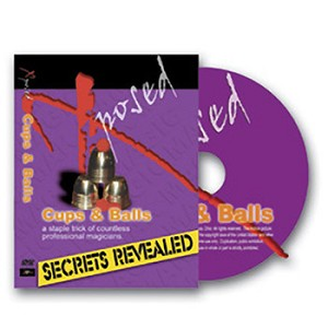 DVD- Cups and Balls Secrets Revealed