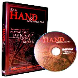 DVD- Easy Hand Illusions