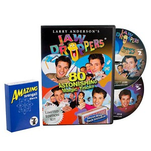 DVD- Get Ready To Learn Magic plus FREE Svengali Deck