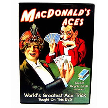 DVD- MacDonald's Aces + Special Cards