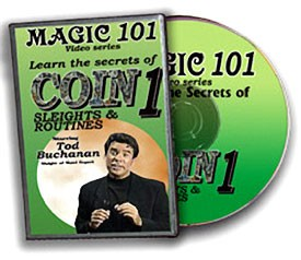 DVD- Coin Sleights Magic 101