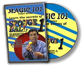 DVD- Sponge Balls Magic 101
